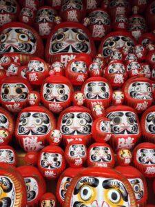 Figurines Daruma