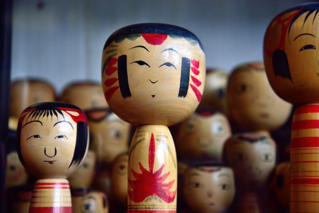 kokeshi, la poupée japonaise à collectionner