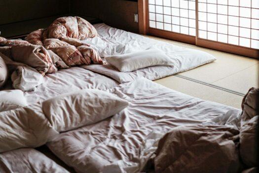 Le futon japonais, le matelas traditionnel pliable