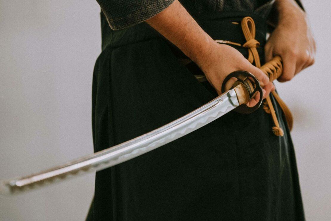 Le katana, la lame la plus tranchante