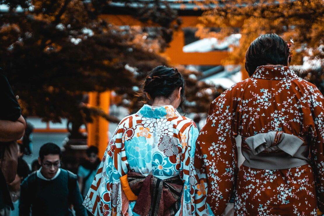 Le kimono, la tenue traditionnelle japonaise