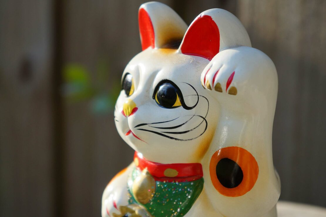 Le maneki neko, le chat le plus chanceux du Japon