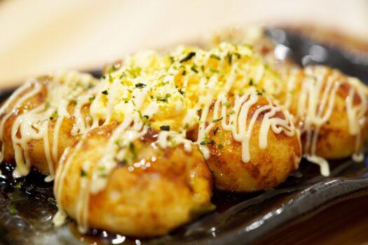 Takoyaki, la star de la street food d'Osaka