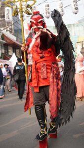 démon japonais tengu