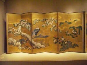 paravent japonais byōbu