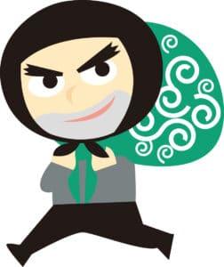 personnage voleur japonais