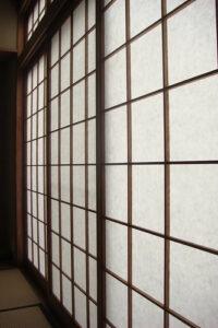 porte japonaise coulissante japonaise