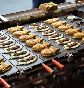 cuisson des taiyaki