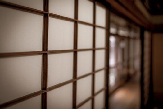 Shōji, le panneau coulissant japonais