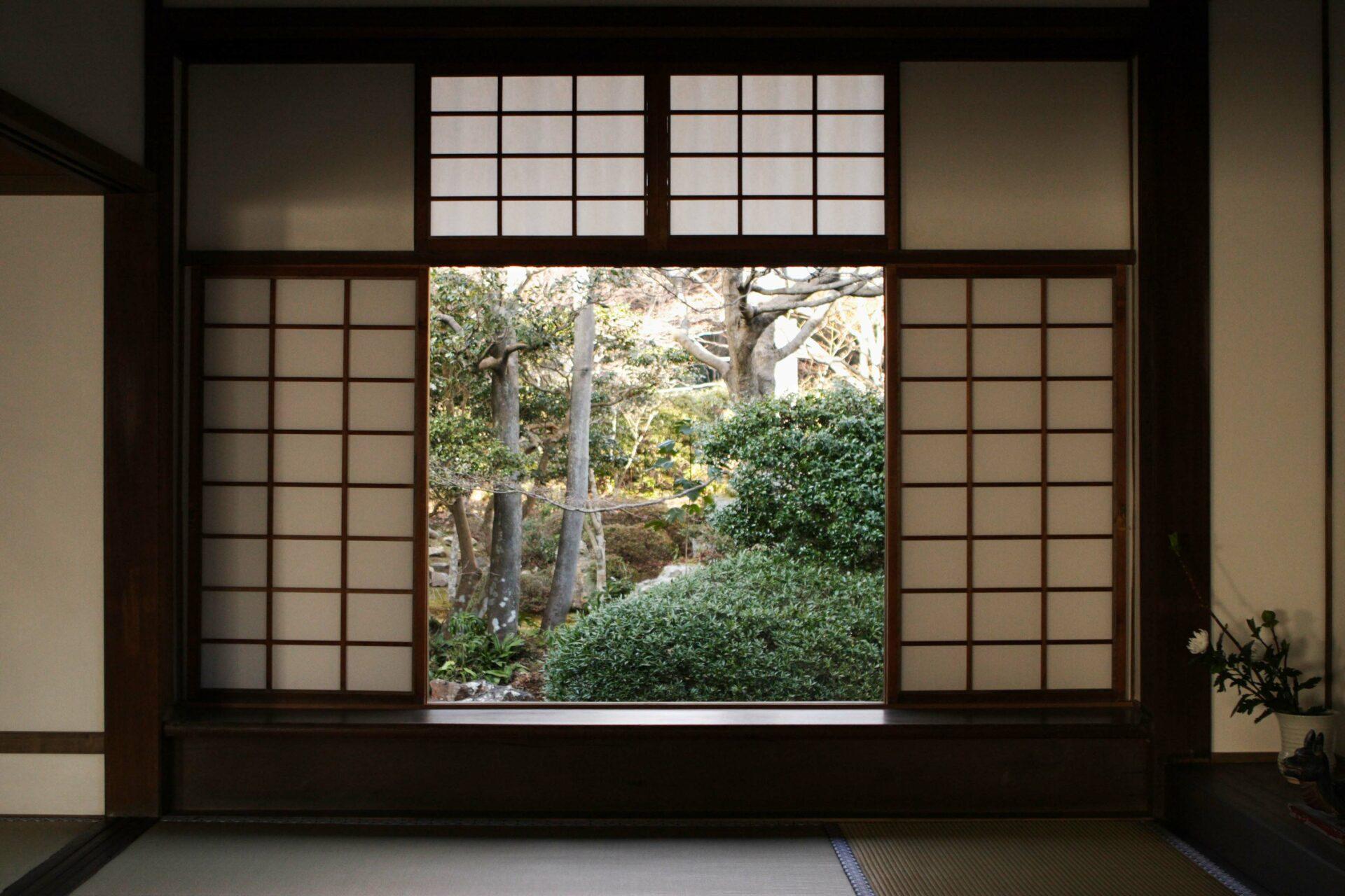 porte coulissante japonaise Shōji