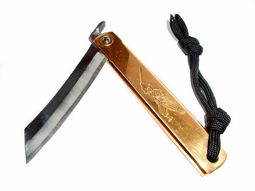 couteau pliant japonais Higonokami
