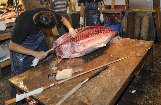 couteau à thon