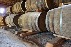 fûts de whisky japonais