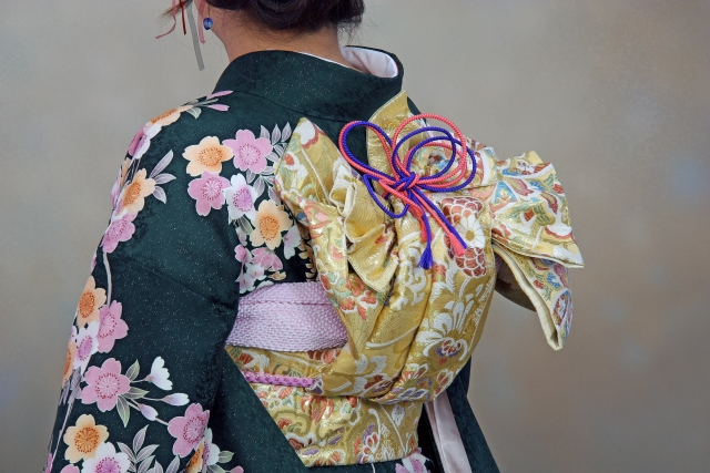 ceinture de kimono obi