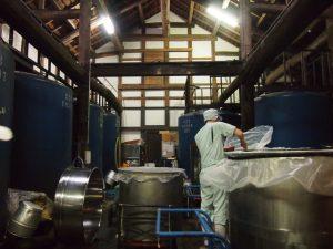 Brasserie de saké japonais