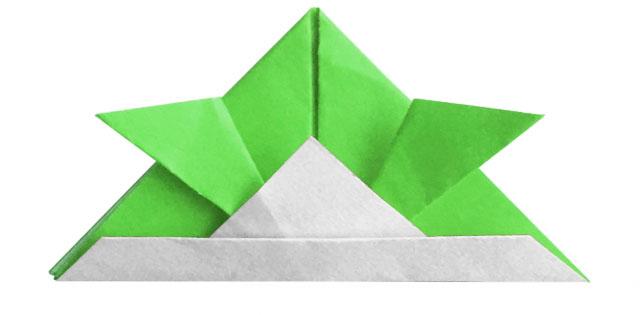 Casque de Samouraï en papier pour fête des enfants et koinobori