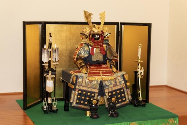 poupée samouraï gogatsu ningyō