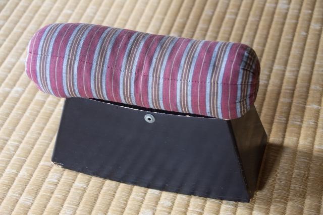 oreiller japonais makura ancien