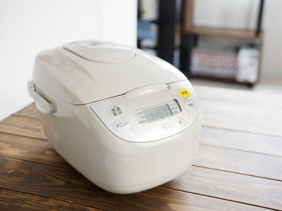 Le rice cooker, le cuiseur à riz japonais