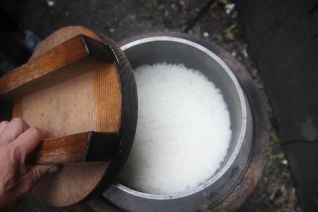 cuiseur à riz traditionnel japonais